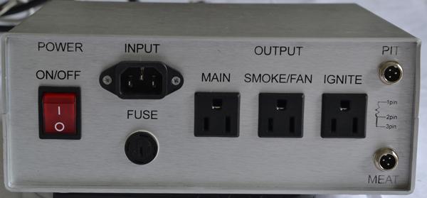 Bbq Power Draft Controller Smoker Grill Mechanical