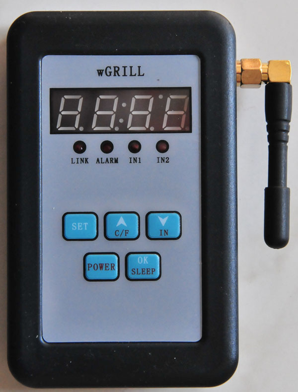 Wifi grill thermometer m bler til terrassen og haven - Thermometre connecte wifi ...